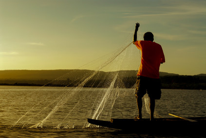 Fischer in Sekong