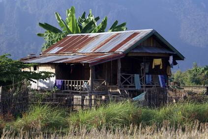 Hütte in Sekong