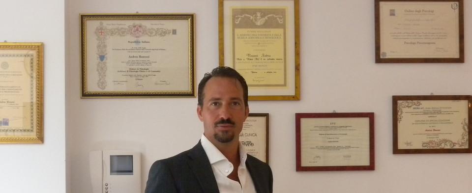 Psicoterapeuta Cognitivo-Comportamentale Brescia-Dr.Andrea Ronconi Psicologo Psicoterapeuta Sessuologo