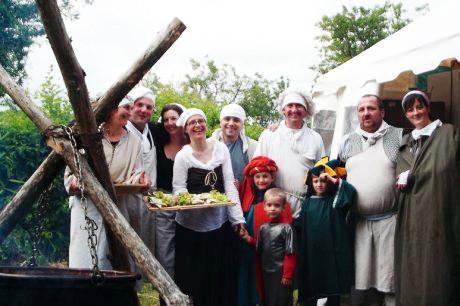 Les organisateurs des agapes. (Photo F. S.)