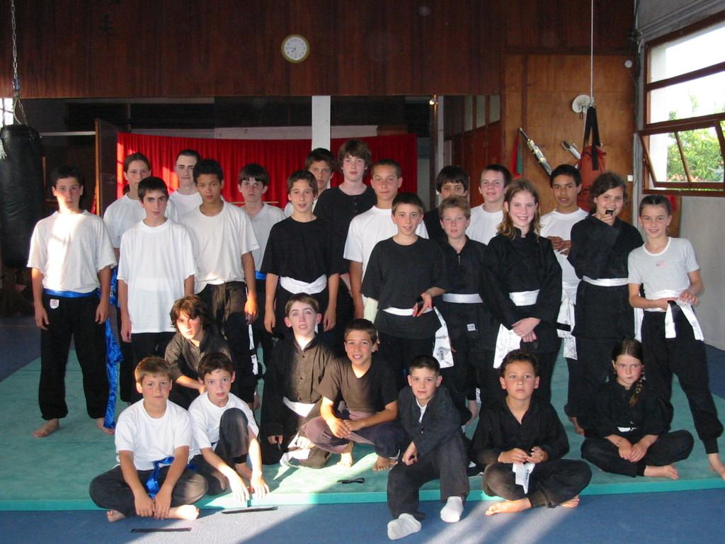 section kung fu enfants