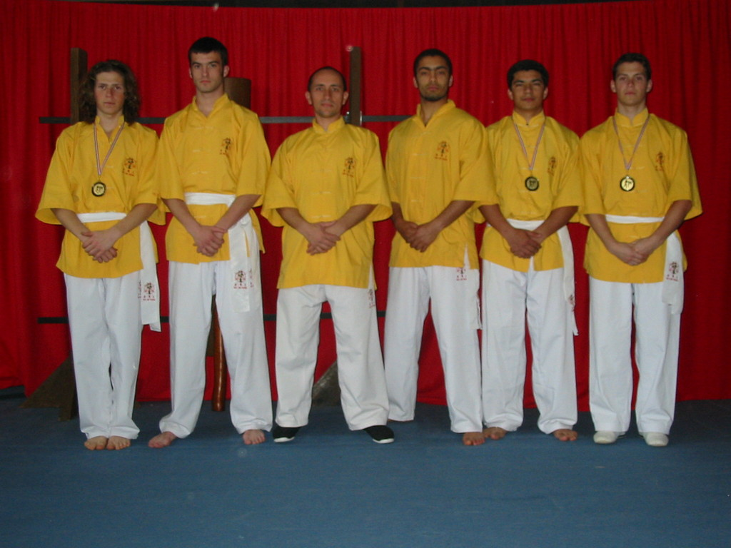 medaillés competition  kung fu 2005