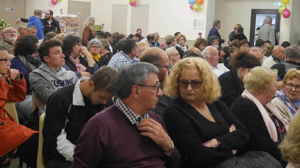 Les spectateurs sont venus nombreux. © Photo NR