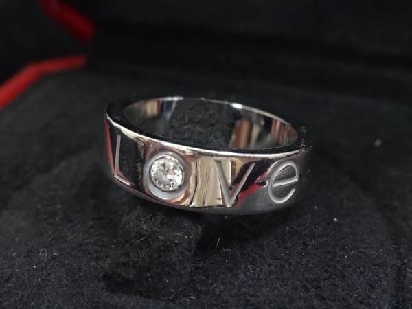 買取り カルティエ ラブリング クリスマス限定 指輪