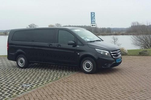 Nieuwe Taxibus voor 8 personen van Taxi Buggenum