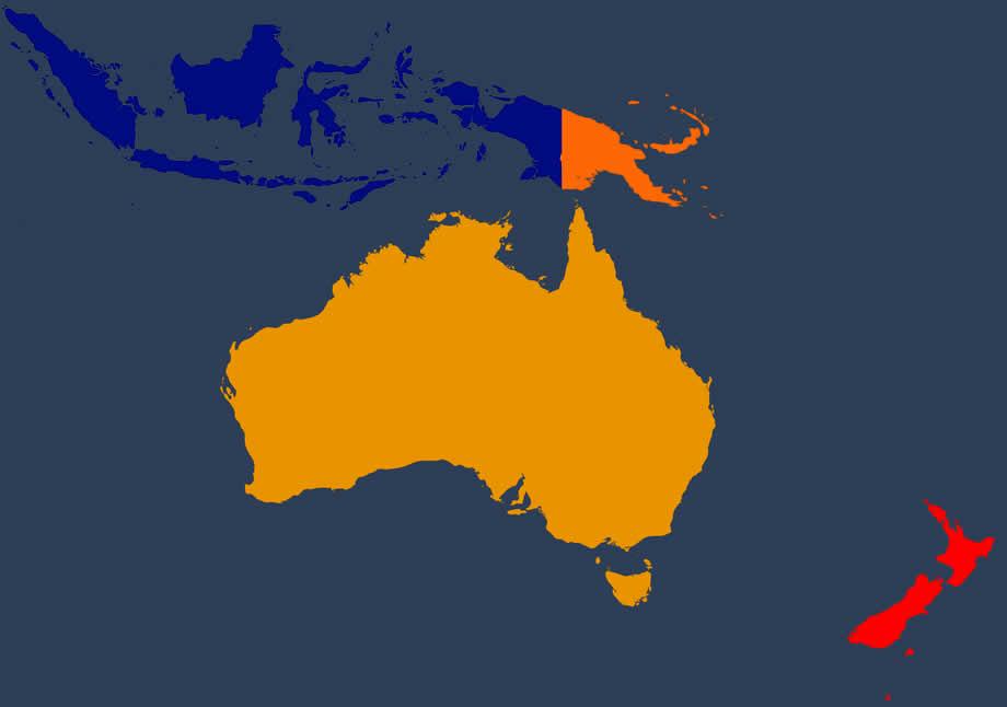 Voyager librement entre l'Australie et la Nouvelle Zélande