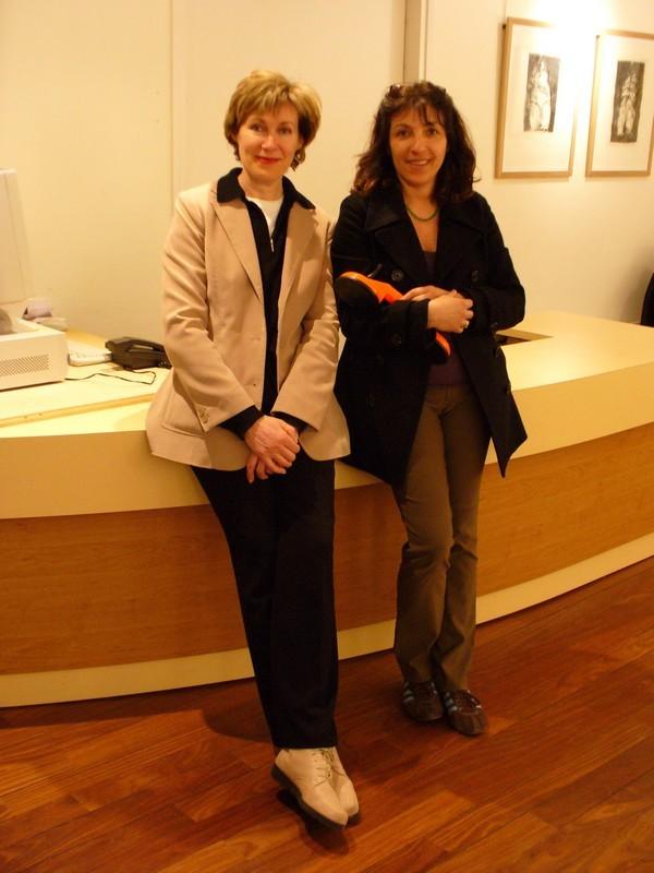 Geneviève Robin et Mâkhi Xenakis - Musée de Brest 2007