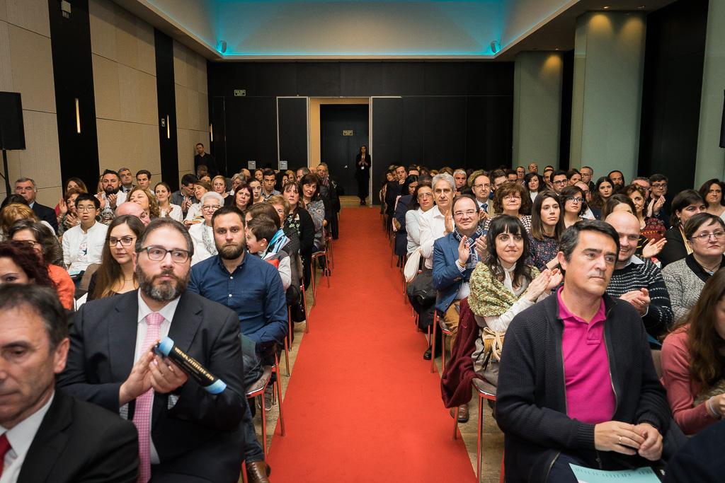 Acompañantes de los Premiados y Finalistas en la Gala Premios Educa