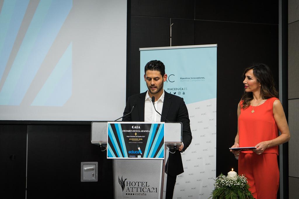 Javier Núñez, Secretario General de los Premios Educa.
