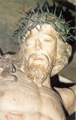 Der Gekreuzigte aus der Pfarrkirche St. Katharina zu Buschhoven (© T. Wirz)