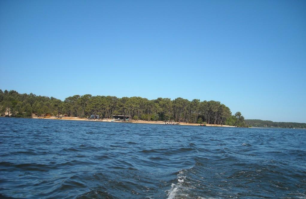 Vue du lac de Lacanau