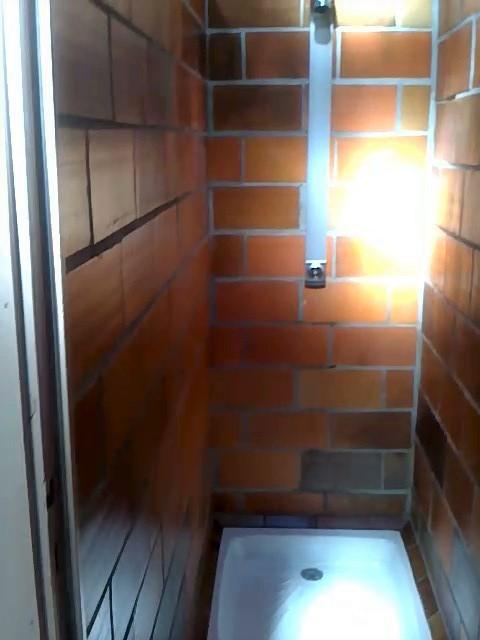 klassische Dusche