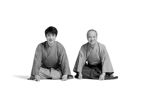 ブルース・オズボーン 「親:野村万作(狂言師) 子:野村萬斎(狂言師)」2009