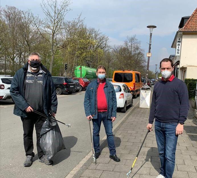 "Aktion ""Sauberes Münster"""