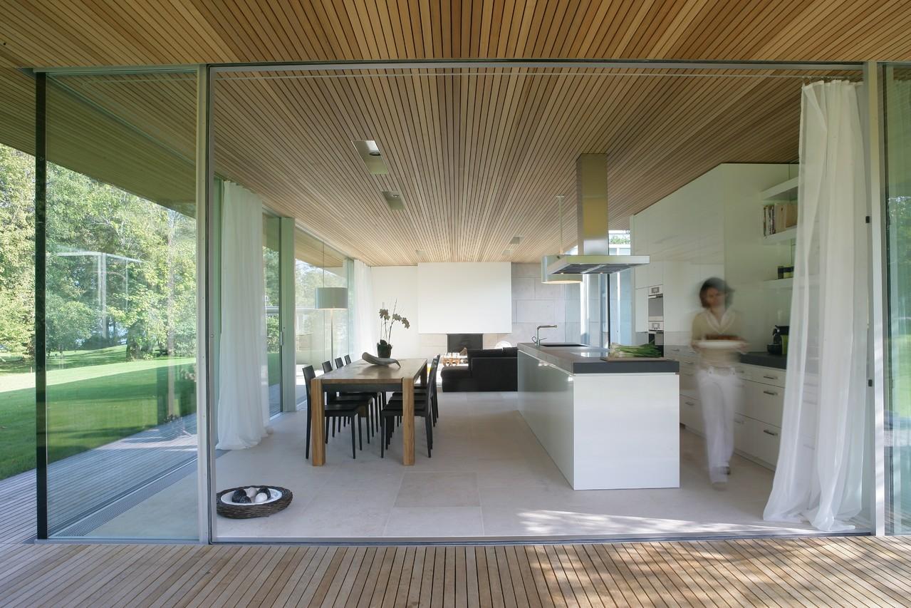 Haus am See: Atriumhaus