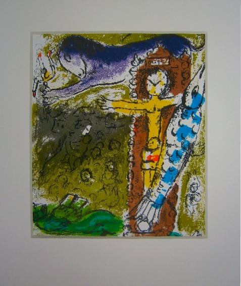 Marc Chagall, litho M.196 uit Lassaigne Chagall 70 (1957)
