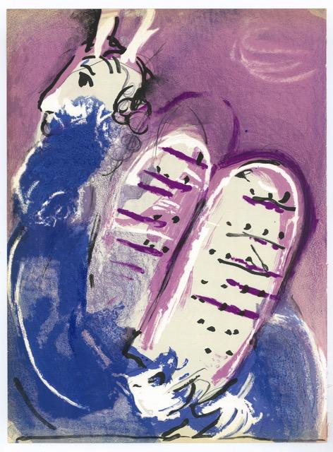 Marc Chagall Mozes