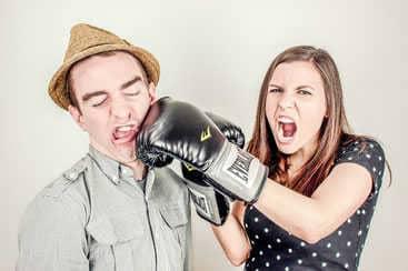 Ex zurück-Tipp: Diskutiere nicht mit deinem/deiner Ex.