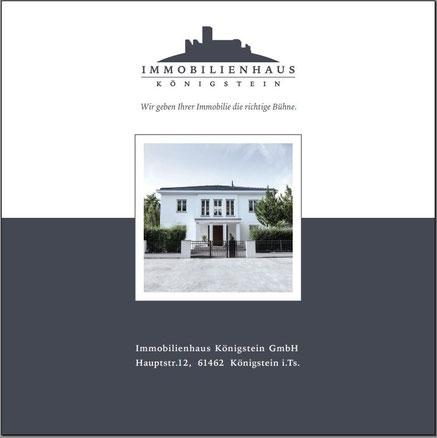 Unternehmensbroschüre Immobilienhaus Königstein - Download