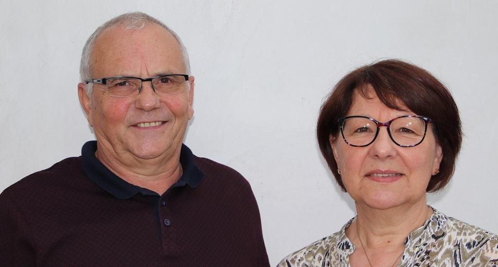 Bernard et Maryse, les propriétaires qui vous accueillent