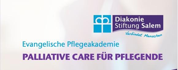 Neuer Palliative Care Kurs der Ev. Pflegeakademie ab September 2021