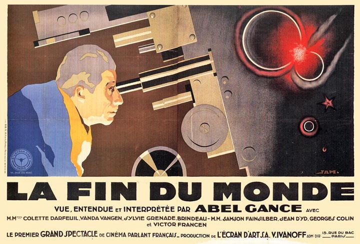 La fin du monde, 1930, Abel Gance, France.