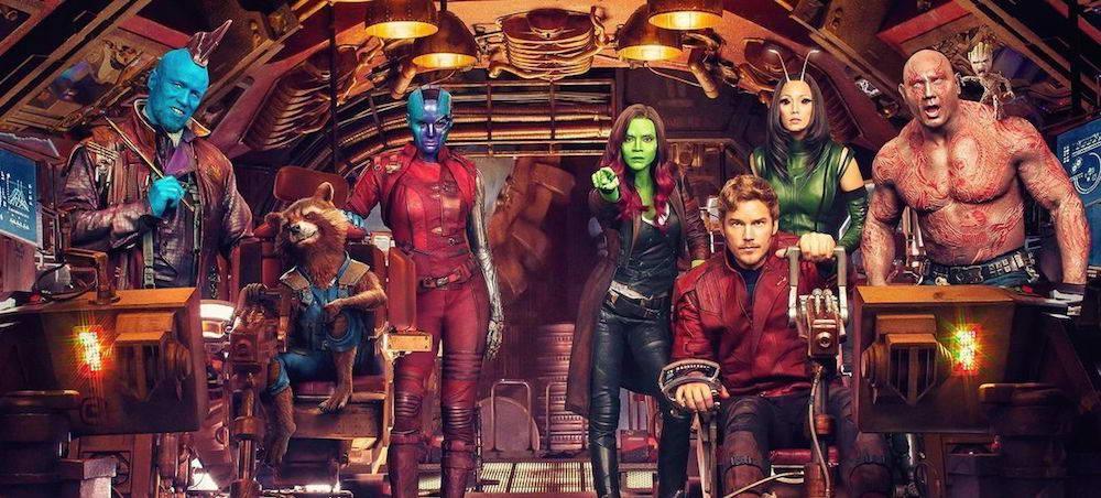 Les gardiens retournent dans La Galaxie!