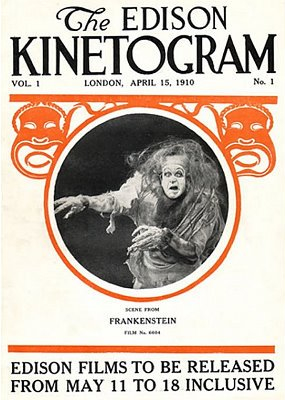 Frankenstein, 1910, J Searle Dawley, Etats-Unis