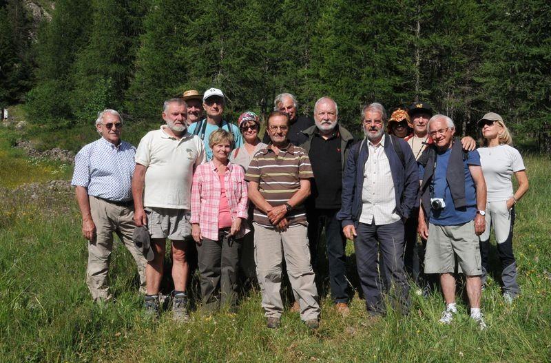 Des participants à la balade dans le Laverq du 22 juin 2015 (voir CR et autres photos dans la rubrique qui y est consacrée)