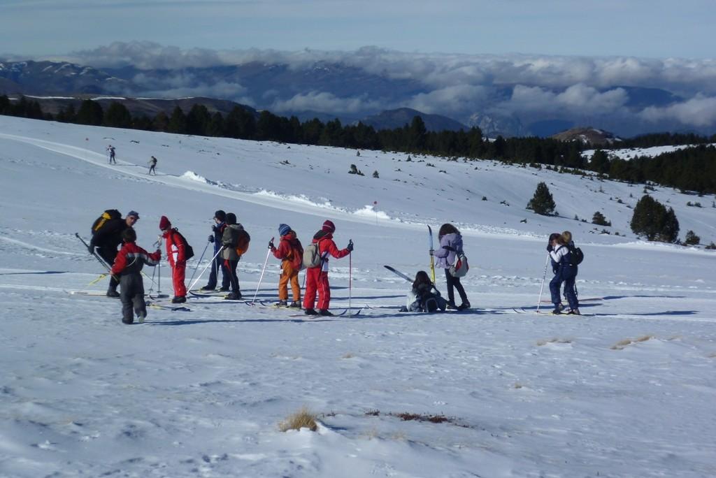 Ski de fond au Plateau de Beille