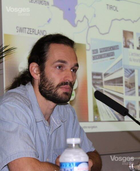 Vincent PIERRE : Ingénieur français en Eco-construction et Directeur du Bureau d'étude TERRANERGIE
