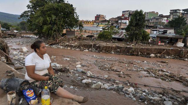 Mocoa après la coulée de boue - Photo tirée de l'Express du 5 avril 2017