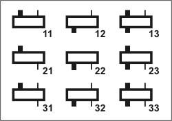 Редукторы цилиндрические горизонтальные одноступенчатые типа 1ЦУ (ЦУ). 1ЦУ-160 (ЦУ-160); 1ЦУ-200 (ЦУ-200); 1ЦУ-250 (ЦУ-250) .Схемы сборки редукторов 1ЦУ-160; 1ЦУ-200; 1ЦУ-250.