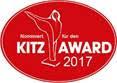 Nominiert für Kitz Award 2017