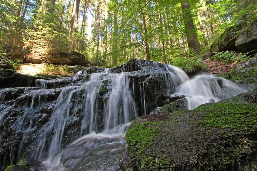 Neualbenreuth, Altmugl, Muglbach-Wasserfall, Landkreis Tirschenreuth