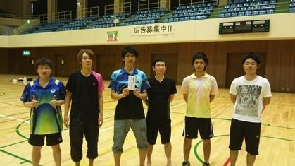 男子1部優勝のVESUPEROチームです。