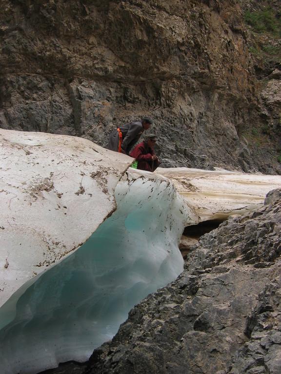 Geierschlucht in der Gobi