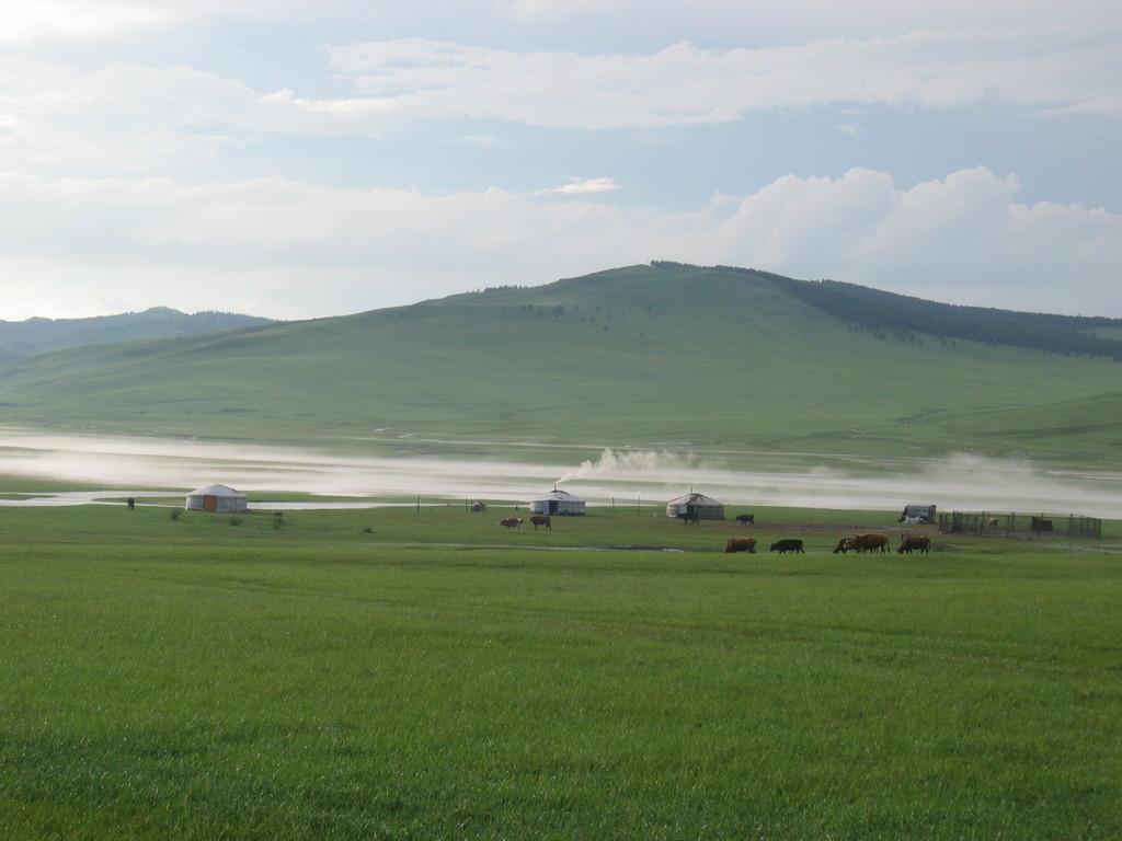 Landimpression 150 km nördlich von Ulanbaatar