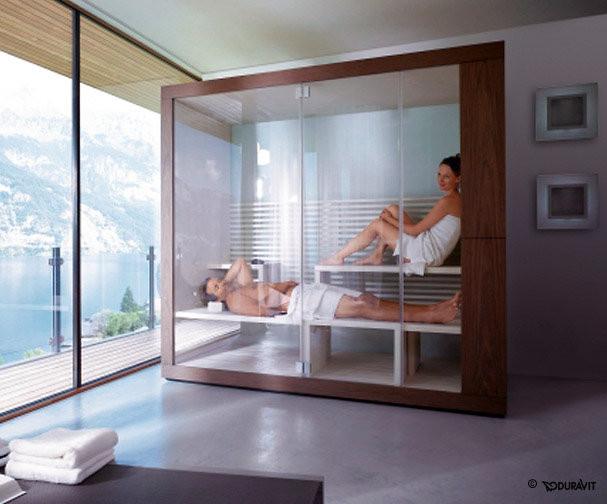 Relaxen in der eigenen Sauna