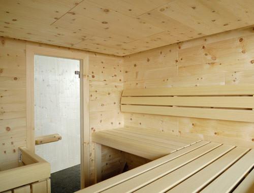Saunakabine - Installationen Mair