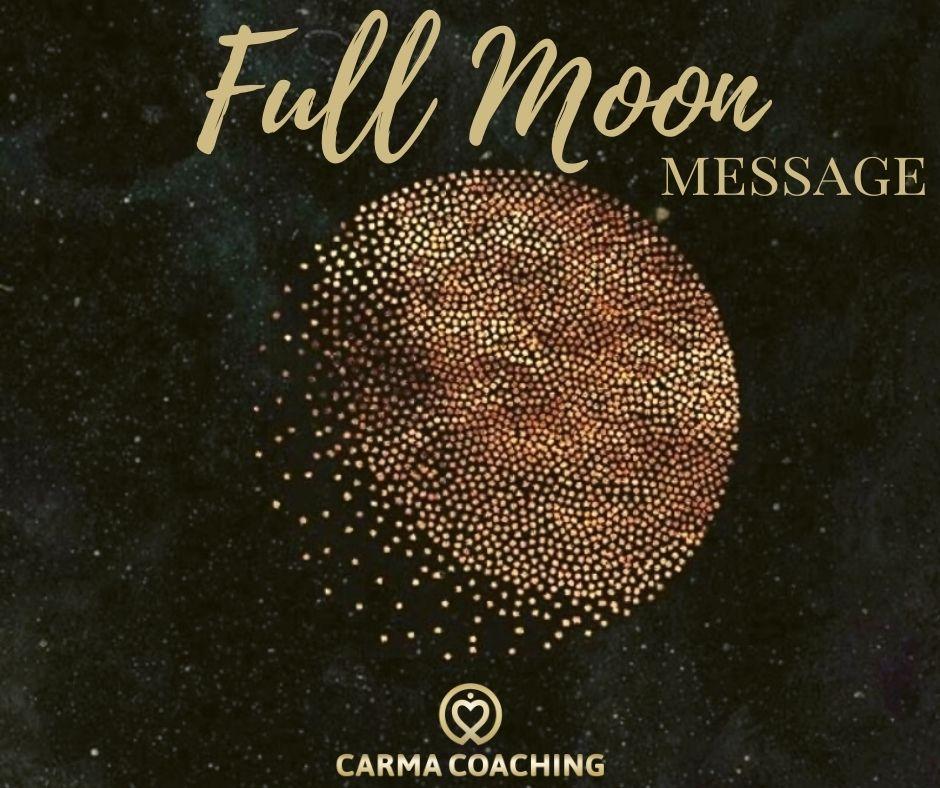 Full Moon message 27 februari; Is de liefde voor jezelf in evenwicht? ♥ Caroline ♥ Lichtwerkers Nederland