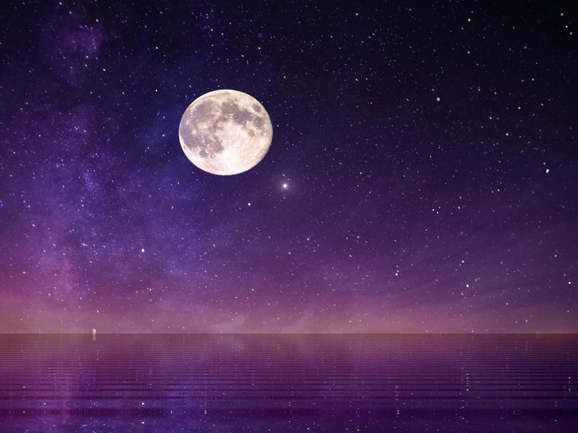 Volle maan 30 december 2020 ♥ Petra Stam ♥ Lichtwerkers Nederland