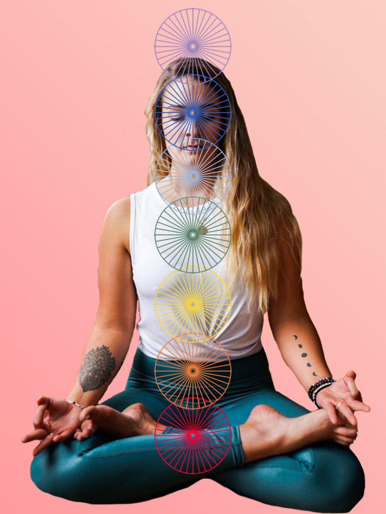 De kleuren en betekenis van de chakra's  ♥ Rose Putnam ♥ Lichtwerkers Nederland