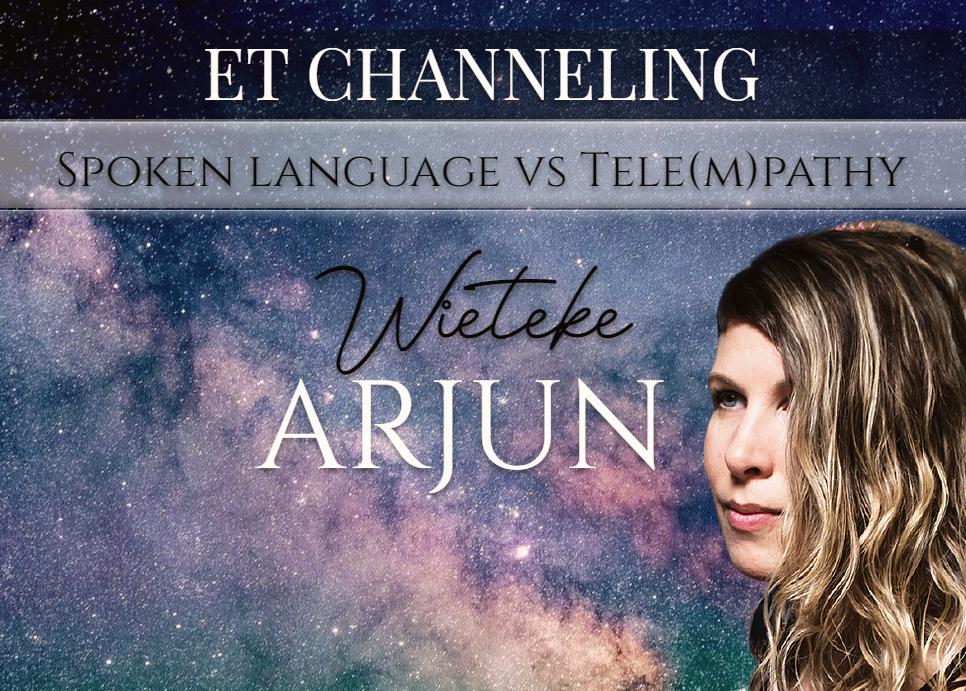 Channeling: De gesproken taal versus tele (m) pathie ♥ Wieteke Koolhof ♥ Lichtwerkers Nederland
