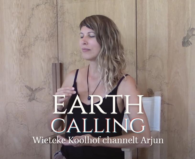 """EARTH CALLING"" ★ Een kijkje in (een) TOEKOMSTIGE AARDE ★ Wieteke Koolhof channelt Arjun van de YahYel"