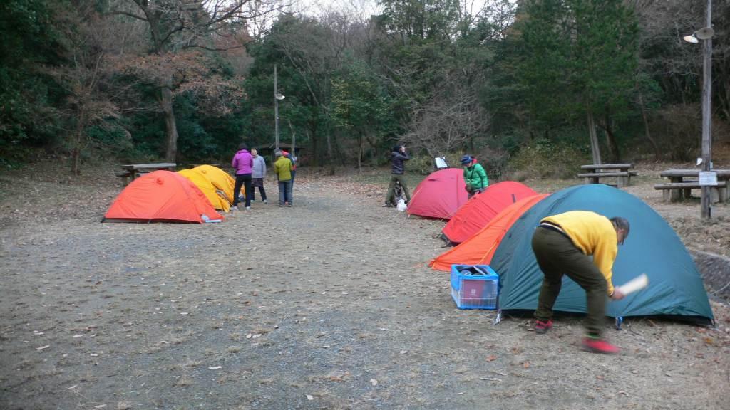 正ちゃんのテント(^^♪