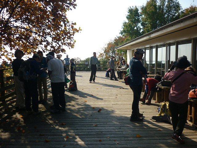 秋の「森のレストハウス」