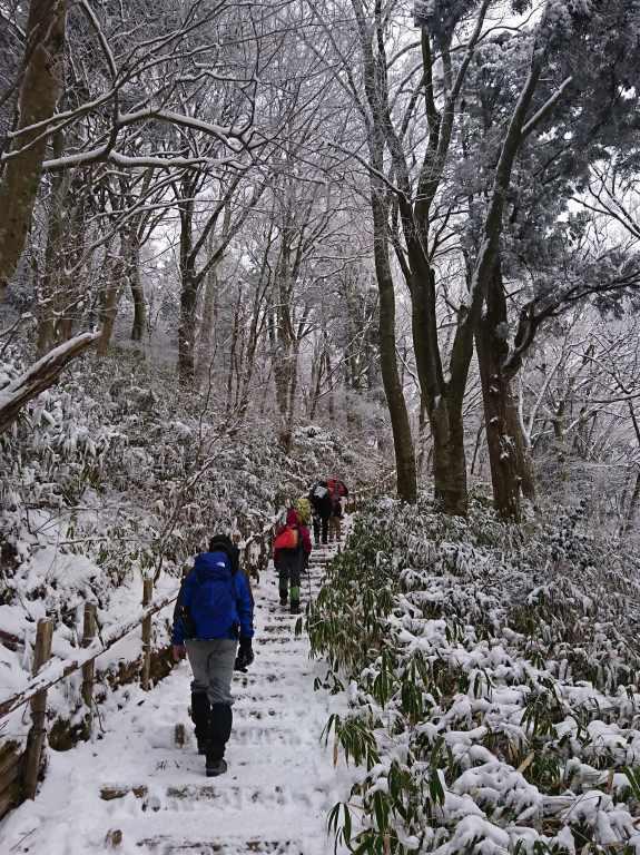 樹氷の中を歩く(その3)