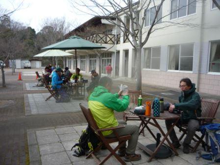 山麓公園で昼食