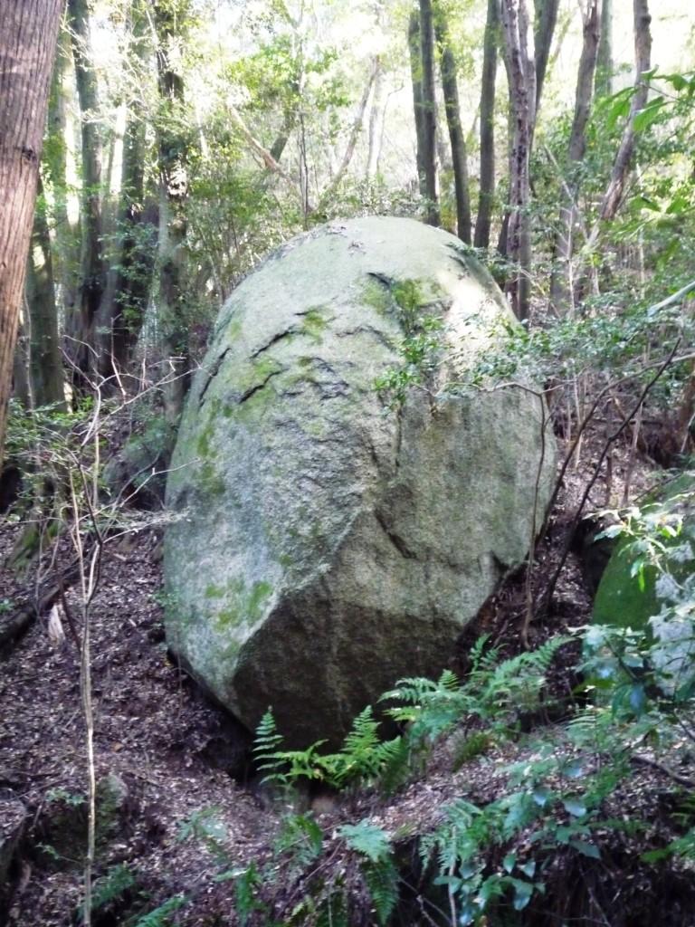 くろんど 「ともぞう岩」 ちびまる子のともぞう爺さんに似ています